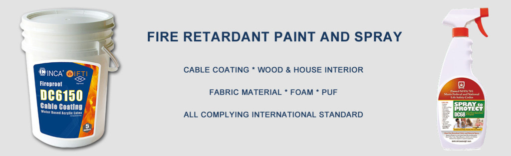Fire Retardant Paint and Spray