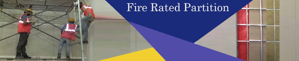 Fire rated Partition
