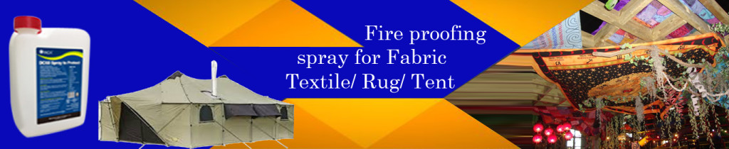 Fire proofing spray for Fabric Textile,Rug,Tent